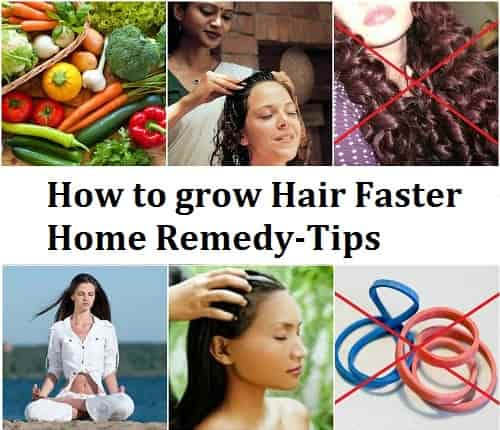 how to grow hair faster for women