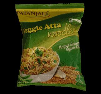 Patanjali Atta Noodles Veggie 60gm