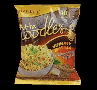 Patanjali Atta Noodles Yummy Masala 60gm