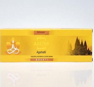 Patanjali Aastha Agarbatti Insence Sticks ( Bhakti )