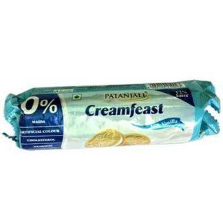 Patanjali Creamfeast Milk Vanilla Biscuits