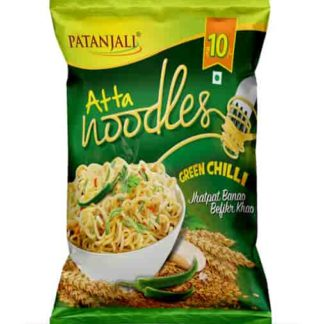 Patanjali Atta Noodles Green Chilli 60gm