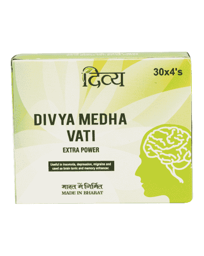 Patanjali Divya Medha Vati Extra Power - 120 Tablets