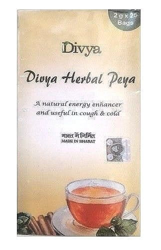 Patanjali Divya Herbal Peya (Tea) -25Bags