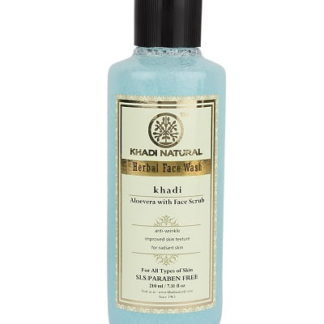 Khadi Aloevera Face Wash With Scrub