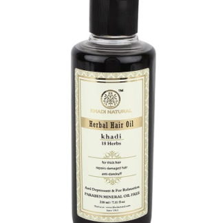 Khadi 18 Herbs Hair Oil - 210ml