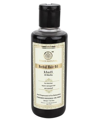 Khadi 18 Herbs Hair Oil - 210ml