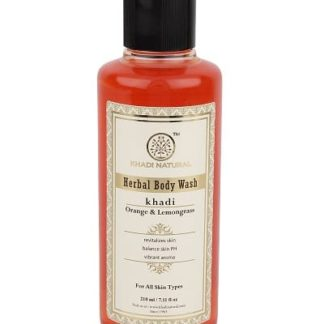 Khadi Orange and Lemongrass Body Wash - 210ml