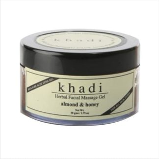Khadi Almond & Honey Facial Massage Gel With Scrub - 50gm