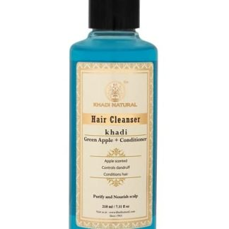 Khadi Green Apple Conditioner Cleanser - 210ml