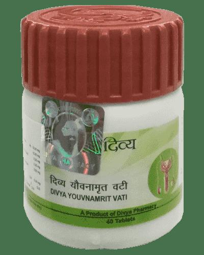 Patanjali Divya Youvnamrit Vati - 40 Tablets