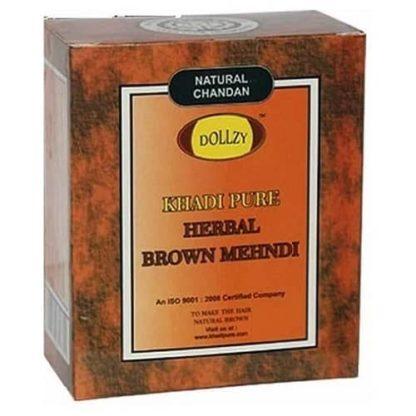 Khadi Herbal Brown Mehandi - 25gm ( Pack of 4 )