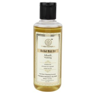 Khadi Vitalising Hair Oil - 210ml