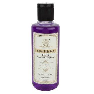 Khadi Lavender & Ylang Ylang Body Wash - 210ml