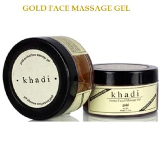 Khadi Gold Face Massage Gel - 50gm