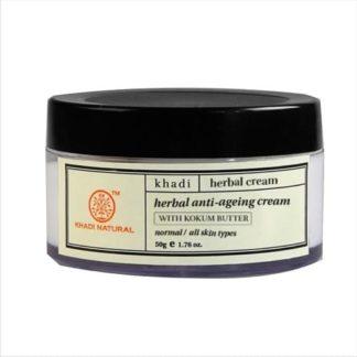 Khadi Herbal Anti Aging Cream - 50gm