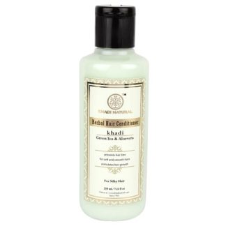 Khadi Herbal Greentea & Aloevera Hair Conditioner - 210ml