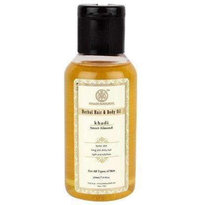 Khadi Sweet Almond Oil - 210ml