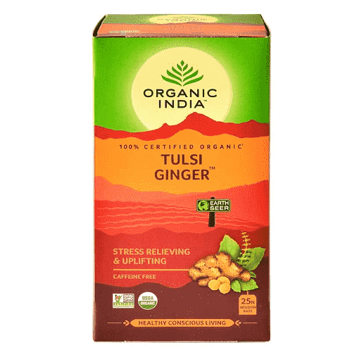 Tulsi tea ginger