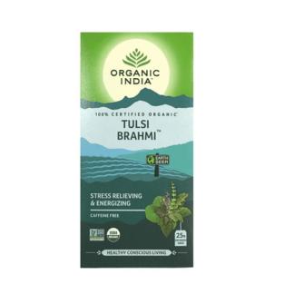Organic India Tulsi Brahmi Tea 25 Bags