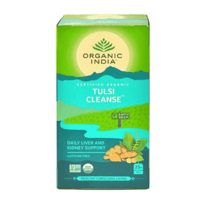 Organic India Tulsi Cleanse 25 Tea Bags