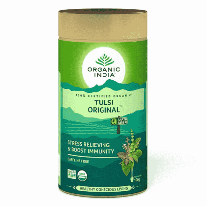 Organic India Tulsi Original Tin 100gm