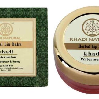 Khadi Watermelon Lip Balm - With Beeswax & Honey - 5gm