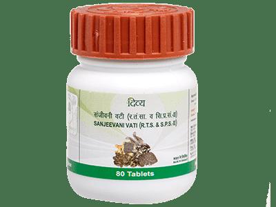Patanjali Divya Sanjeevani Vati -80 tablets