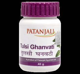 Patanjali Tulsi Ghanvati -80 tablets