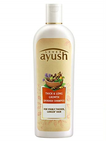 Ayush Lever Thick & Long Growth Shikakai Shampoo - 175 ml