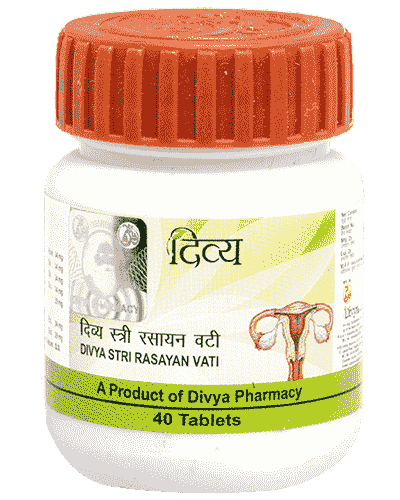 Patanjali Divya Stri Rasayan Vati - 40 Tablets