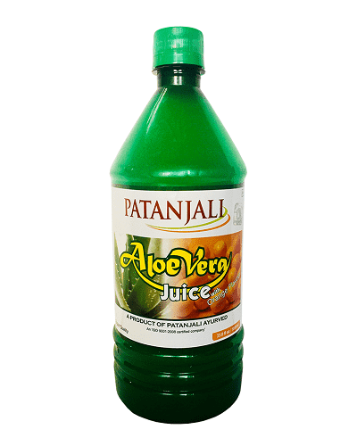 Patanjali AloeVera Juice with Fiber Orange Flavour- 1L
