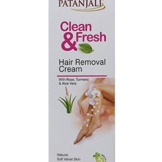Patanjali Clean and Fresh Hair Removal Cream 50gm