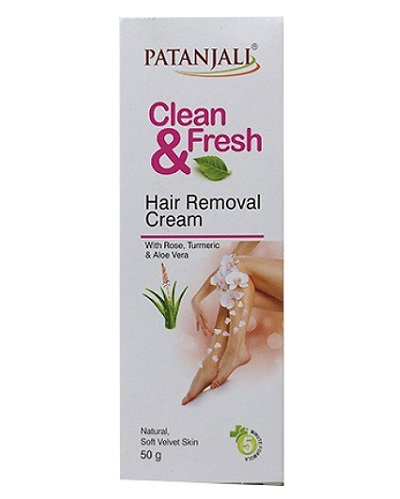 Patanjali Clean And Fresh Hair Removal Cream Reviews Price