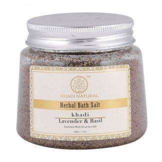 Lavender and basil bath salt