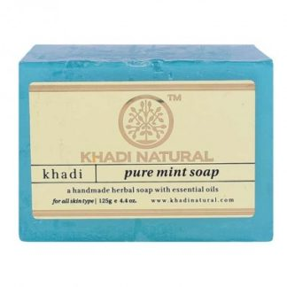 Pure mint soap