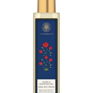 Forest Essentials Bath & Shower Gel Indian Rose