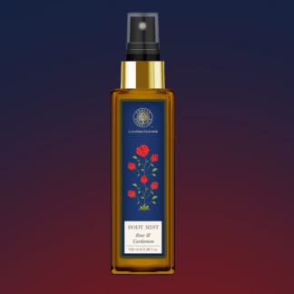 Forest Essentials Body Mist Rose & Cardamom