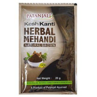 Patanjali Kesh Kanti Herbal Mehandi Natural Brown