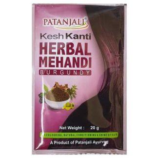 Patanjali Kesh Kanti Herbal Mehandi ( Bungundy )